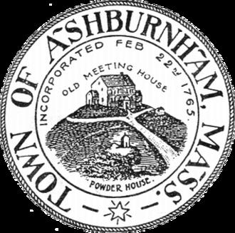 Ashburnham, Massachusetts - Image: Ashburnham MA seal