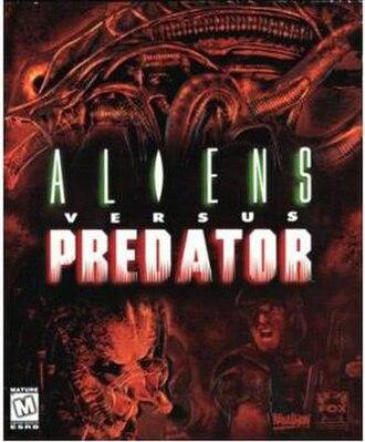 Aliens versus Predator (1999 video game) - Image: Av P1