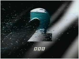 "BBC Two - The ""Paint"" ident from the 1991-2001 set. Several idents from this set were reinstated in July 2014 with the teal box logo."