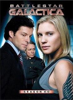 <i>Battlestar Galactica</i> (season 4) fourth and final season of the reimagined science fiction television series Battlestar Galactica