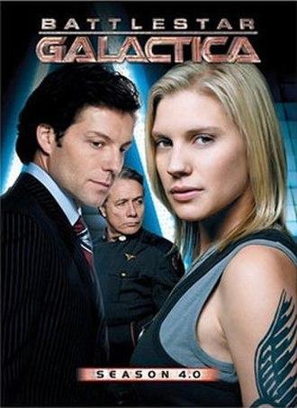 Battlestar Galactica (season 4) - Image: BSG Season 4 DVD