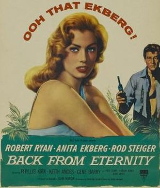 Back from Eternity - Image: Back from Eternity Film Poster
