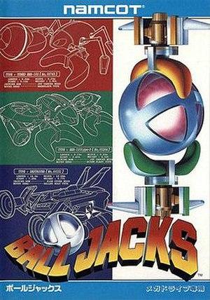 Ball Jacks - Japanese cover art