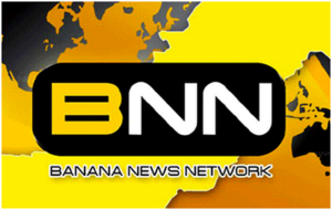 Banana News Network - The opening title screen for BNN