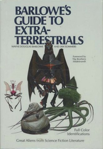 Barlowe's Guide to Extraterrestrials - Cover of the first edition