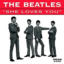 The Beatles — She Loves You (studio acapella)