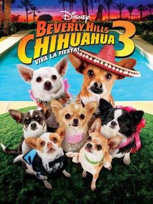 Beverly Hills Chihuahua 3: Viva la Fiesta! - DVD cover