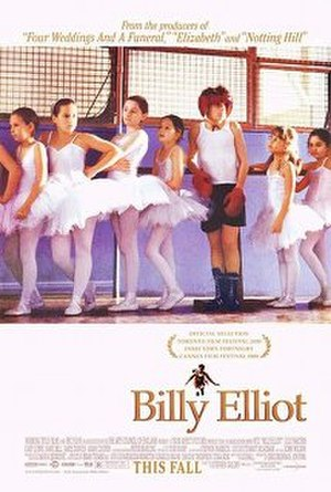Billy Elliot - US theatrical release poster