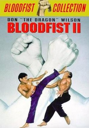 Bloodfist II - DVD Cover