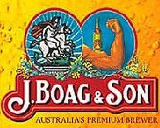 Boag's Brewery - Image: Boags Logo