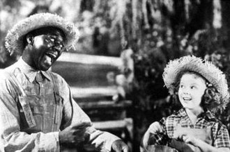 Bill Robinson - Robinson and Shirley Temple in Rebecca of Sunnybrook Farm