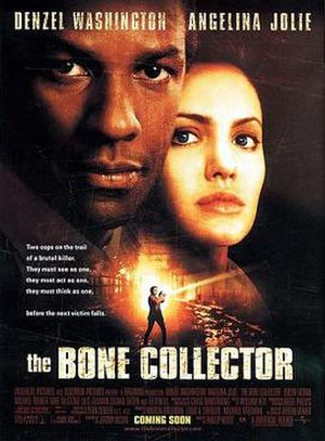The Bone Collector - Theatrical release poster