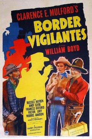 Border Vigilantes - Theatrical release poster