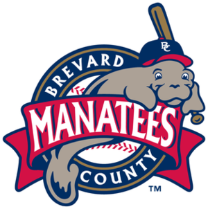 Brevard County Manatees - Image: Brevard County Manatees Logo