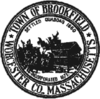 Official seal of Brookfield, Massachusetts
