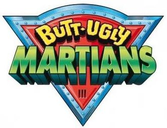 Butt-Ugly Martians - Image: Butt Ugly Martianslogo