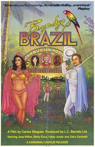 Bye Bye Brazil - American release poster