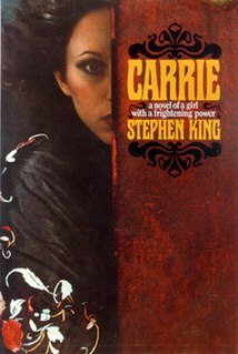 <i>Carrie</i> (novel) 1974 novel by Stephen King