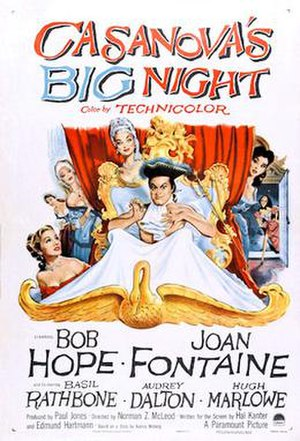 Casanova's Big Night - 1954 US Theatrical Poster