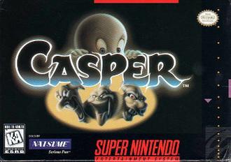 Casper (video game) - North American box art for the SNES version.
