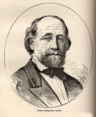 Charles Joseph Sainte-Claire Deville - Charles Sainte-Claire Deville