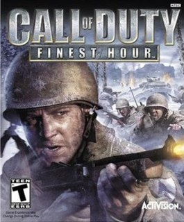 <i>Call of Duty: Finest Hour</i> 2004 video game