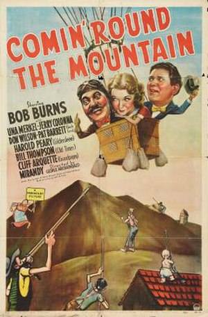 Comin' Round the Mountain (1940 film) - Theatrical release poster