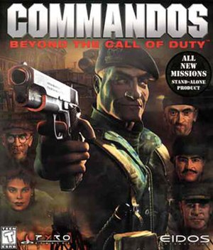 Commandos: Behind Enemy Lines - Beyond the Call of Duty cover art