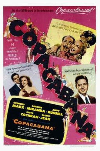 Copacabana (1947 film) - Image: Copacabana Film Poster