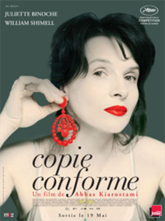 Certified Copy (film) - Theatrical release poster