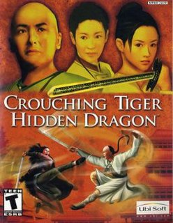 video game based on the Crouching Tiger, Hidden Dragon film by Ang Lee