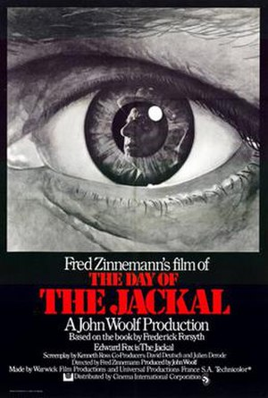 The Day of the Jackal (film) - Image: Day of the Jackal 1973 Poster