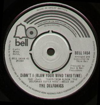 Didn't I (Blow Your Mind This Time) - Image: Delfonics didnti 1970