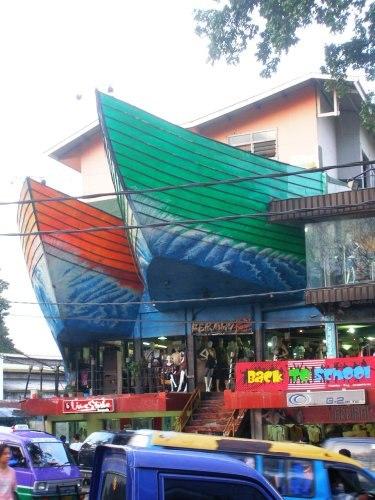 Denim store, Cihampelas Street, Bandung