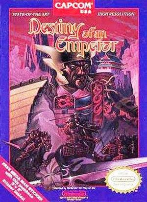 Destiny of an Emperor - North American cover art