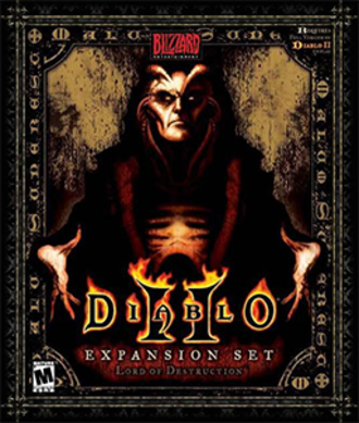 Diablo II: Lord of Destruction - Image: Diablo II Lord of Destruction Coverart