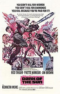 <i>Dark of the Sun</i> 1968 film by Jack Cardiff