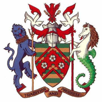 East Riding of Yorkshire Council - Image: Eastridingarms