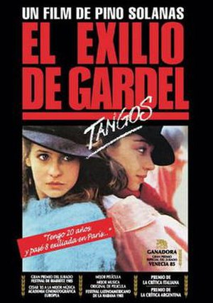 Tangos, the Exile of Gardel - Film poster