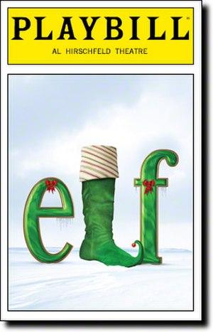 Elf: The Musical - Broadway Playbill