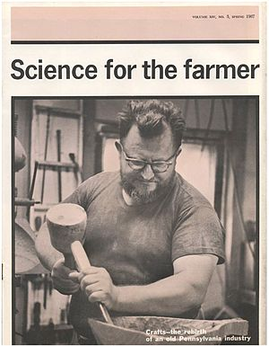 Emil Milan - Emil teaching woodworking, 1967.