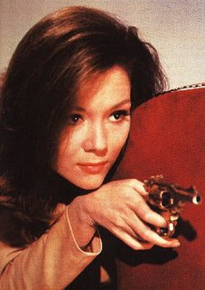 The Avengers (TV series) - Diana Rigg as Mrs Emma Peel
