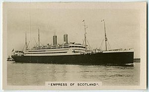 Rms Empress Of Scotland 1905 Wikipedia