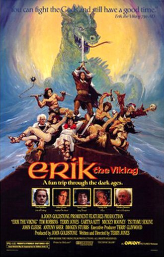 Erik the Viking - US cinema poster