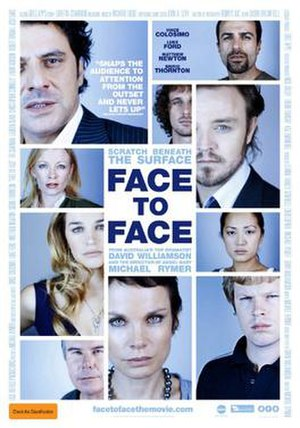 Face to Face (2011 film) - Image: Face to Face (2011 film) poster