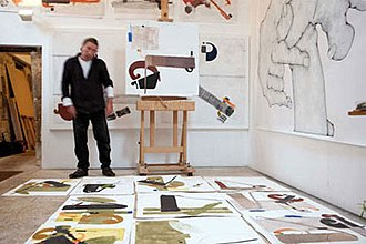 Félix Anaut - Felix Anaut in his studio in France