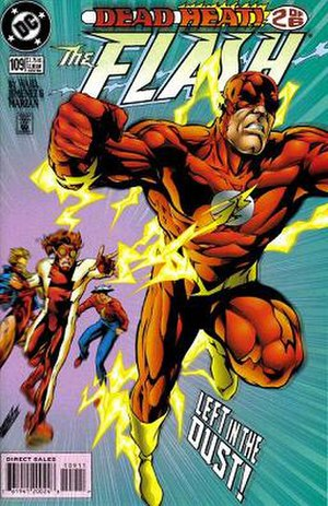 Speedster (fiction) - Image: Flash 109