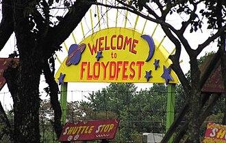 FloydFest - Image: Floyd Fest Enter