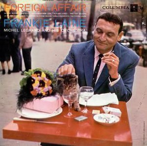 Foreign Affair (Frankie Laine album) - Image: Foreign Affair (Frankie Laine album)