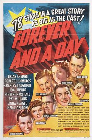 Forever and a Day (1943 film) - Original film poster